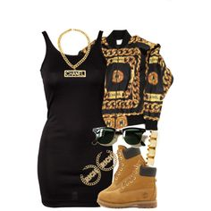 Untitled #874 by power-beauty on Polyvore featuring ONLY, Chanel, Timberland and Ray-Ban