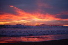 Port Hueneme Beach   port hueneme sunset