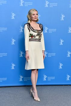 f546eb53e42 Actress Kirsten Dunst attends the  Midnight Special  photo call during the  Berlinale International Film Festival Berlin at Grand Hyatt Hotel on  February ...