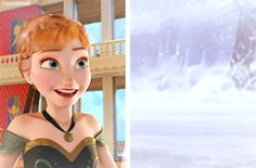 Frozen - Anna beginning and end not okay