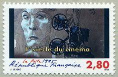 Acteur 1er siècle du cinéma - Timbre de 1995
