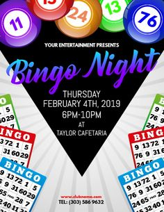 Bingo Flyer Template Free - Beautiful Bingo Flyer Template Free , Pin by Muse Printables On Page Borders and Border Clip Art Templates Printable Free, Flyer Template, Bingo Night, Game Night, Free Bingo Cards, Bingo Party, Winning Lotto, Sign Up Sheets, Word Bingo