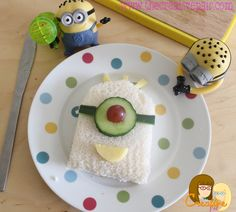 Make a minion sandwich - fun snacks for kids! — The creative pair