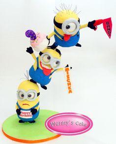 minions cakes