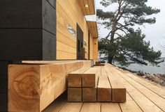 Detox your troubles away in this new public sauna built of natural materials
