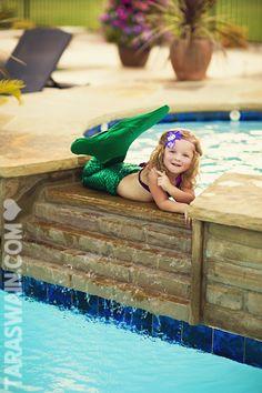 Cute little mermaid!