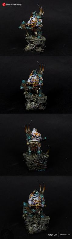 W40K - Chaos Nurgle Lord (by C'tan)
