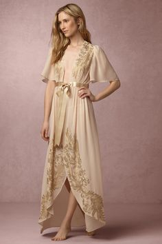 BHLDN Monteverdi Robe in  Sale Lingerie at BHLDN