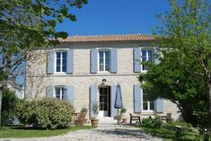 Near Loulay, Charente-Maritime Corner Bath, Poitou Charentes, Bright Rooms, Open Fireplace, French Property, Mediterranean Garden, Double Garage, Stylish Kitchen, Village Houses