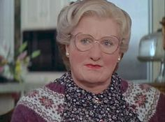 Mrs Doubtfire is created in order to allow a father to gain caring access to his children. #caregiver #archetype #brandpersonality