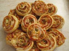 Fotorecept: Pizzové osie hniezda - Recept pre každého kuchára, množstvo receptov pre pečenie a varenie. Recepty pre chutný život. Slovenské jedlá a medzinárodná kuchyňa
