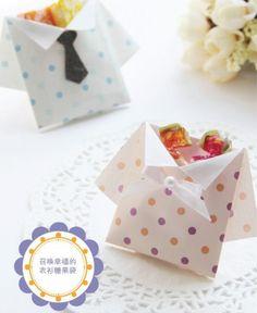 5316076f7 ATELIER CHERRY: Camisa de origami Camisa De Origami, Bolsas De Papel, Bolsas  De