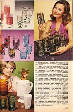 Green Stamps were immensely popular during the and In fact, the S&H catalog was the largest publication in the U. Vintage Kitchenware, Vintage Glassware, Vintage Advertisements, Vintage Ads, Vintage Stuff, 1970s Decor, Old School Fashion, Stamp Catalogue, Sewing Baskets