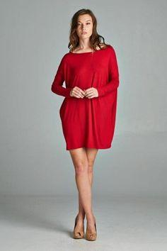Long sleeve piko style top/dress