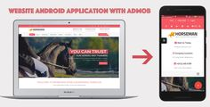 WebSite Android Application with AdMob . Using this application Convert your website into Android Application just in minutes with WebView feature.Well documented help guide will help you to customize easily it with your needs.You just have to change some website url. Then, you can submit it to Google