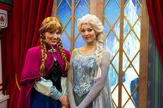 'Frozen' Fun Debuts at Disney Parks  - in Norway at Epcot for future reference