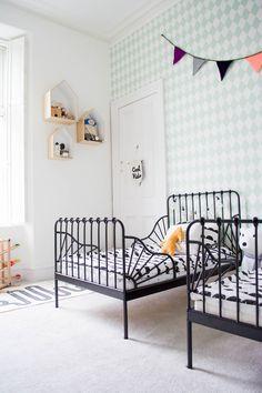 Finlay & Parker's shared bedroom
