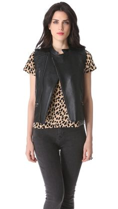 ideas for altering a leather jacket
