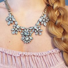 Glam And Glitter Statement Necklace #happinessbtq