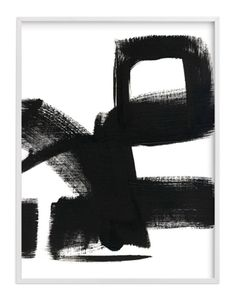 """Untitled 1, 30"""" X 40"""", White Wood Frame - See more at: https://www.decorist.com/finds/125162/untitled-1-30-x-40-white-wood-frame/"""