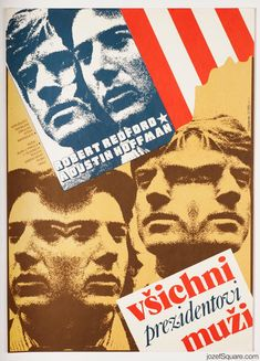 Movie Poster - All the President's Men, Zdeněk Ziegler, 1980