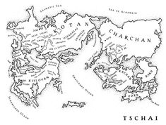 Jack Vance's Tschai, the Planet of Adventure. VIE Maps