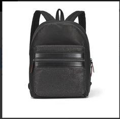 f99f5af92d4 Hugo Boss Unico Black Leather Backpack(100% Genuine, Hugo Boss Dust-bag