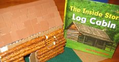 Have you ever noticed that those long pretzel rods kind of look like logs? I did and I couldn't let that little discovery be wasted. Knowi...