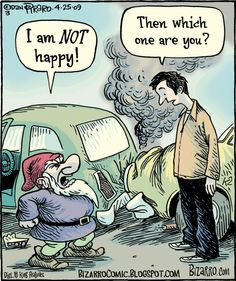 Visual Pun by Bizarro Comics Funny Cartoon Pictures, Cartoon Jokes, Funny Cartoons, Funny Comics, Bizarro Comic, Really Funny, The Funny, English Teacher Humor, Funny Puns