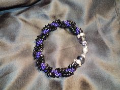 Edgy Kumihimo bracelet CREATIONS BY NANCY