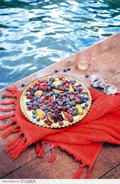 Owocowa tarta z okładki kukbuka   KUKBUK. Zawsze głodni!  photo dinnershow studio