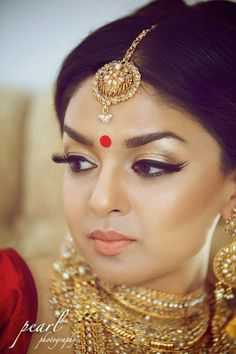 Indian Bridal Makeup, Indian Bridal Hair, Bridal Makeup, Bridal Hair, Indian Bride, Indian Wedding, Wedding Makeup, Wedding Hair