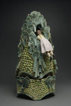 ☥ Figurative Ceramic Sculpture ☥   Megan Bogonovichs Ceramics.