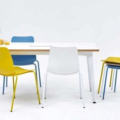 Polly chairs with Fold table
