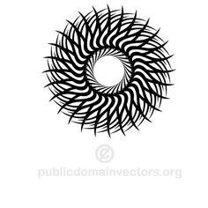 Star tribal style vector   Public domain vectors