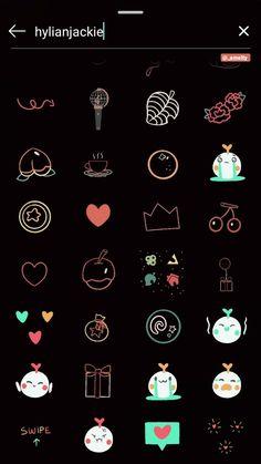 Instagram Emoji, Iphone Instagram, Instagram And Snapchat, Instagram Quotes, Instagram Photo Editing, Foto Instagram, Creative Instagram Stories, Instagram Story Ideas, Organizar Instagram