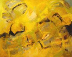 """Fíjate, la luz, el calor, la vida que nos da el sol sigue creciendo. / James Vella Clark; Mixed Media, Painting """"Yellow Light"""""""