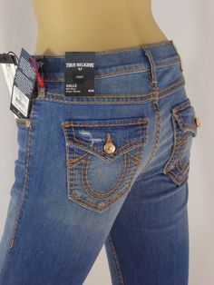 One by One Teaspoon Jeans Size 28 Dark Blue Awesome Baggies Destroyed  Ripped  200a946aab9