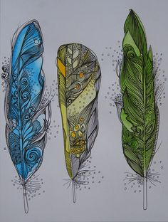 Feathers by Himadri Pachori, via Flickr