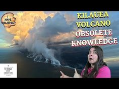 Kilauea volcano becomes knowledge obsolete. Is the science exact? Obsolete Knowledge The knowledge is ever in change. This video has three examples of obsolete knowledge: -Planet like Earth -Geographic changes -The myth of 5 senses Enjoy Be Bold, Yoga Videos, Volcano, Geology, Planets, Believe, Knowledge, Science, Earth