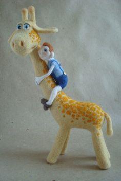 giraffe - Anna Tigleva