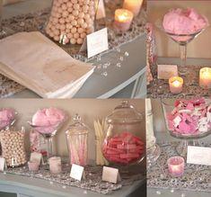 pink & grey baby shower