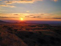 Prelude #desert #sunrise #purple #sun #landscape #clouds
