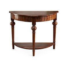 Elegant Semi Circle Hall Table