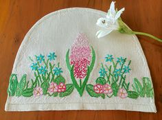 Check out this item in my Etsy shop https://www.etsy.com/uk/listing/522087064/hand-embroidered-vintage-hyacinth-linen