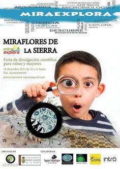 Feria de divulgación científica MIRAEXPLORA