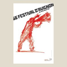 affiche 2012 - Festival d'Avignon