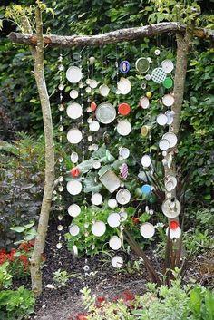*Garten-Liebe* – Garden & Terrace - – Garden Planters - What You Need To Know About Gardening Garden Crafts, Diy Garden Decor, Garden Projects, Diy Decoration, Recycled Garden Art, Unique Garden, Love Garden, Colorful Garden, Easy Garden