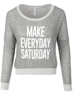 LE3NO Womens Print Long Sleeve Scoop Neck Cropped Sweatshirt (CLEARANCE)