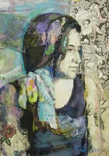 """mixed media on """"Collage Demos by Katie Wilson"""""""